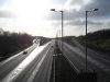A1(M) looking south from St Albans Road, South Mimms.jpg