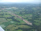 A34 Alderly Edge Bypass under construction. July 2009 - Coppermine - 22832.jpg