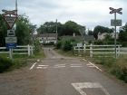 Level crossing at Manorbier Newton (C) Jennifer Luther Thomas - Geograph - 218145.jpg