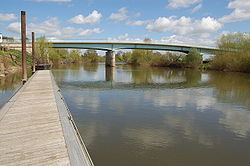 The Haw Bridge over the river Severn - Geograph - 775686.jpg