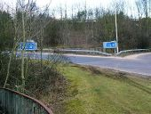 A1000 approach to A1(M) junction 6 - Coppermine - 4980.jpg
