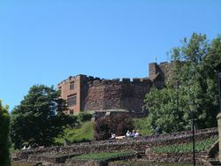A view of Tamworth Castle (1) - Geograph - 875337.jpg
