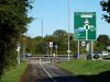 Polish War Memorial roundabout ahead - Geograph - 3166407.jpg