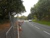 Road works near Pendeford Hall - Geograph - 2108406.jpg