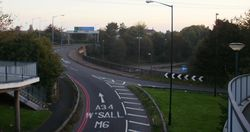 M6 interchange Great Barr - Geograph - 1490778.jpg