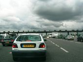 A43 Autoroute - toll booths on approach to Lyon - Coppermine - 7591.jpg