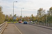 Bridge taking A27 over M3 - Geograph - 1027206.jpg