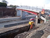 Hightown Road bridge over M2, Glengormley - Coppermine - 17195.jpg