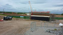 Bridgewater Junction - Mersey Gateway Construction - Geograph - 4970208.jpg