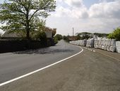 Exiting Church Bends on the A 3 road - Geograph - 169187.jpg