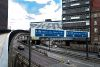 Newcastle Central Motorway approaching the Tyne Bridge