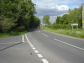 Junction of Hawse Lane with the B4239 - Geograph - 441403.jpg