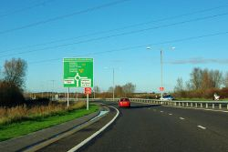 Approaching the Shinewater Roundabout - Geograph - 2697761.jpg