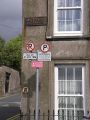 20180824-1533 - Parking restrictions, Audley Place, Cork 51.905339N 8.469962W.jpg
