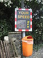 IOM VAS Speed & Smile Sign - Coppermine - 13369.JPG