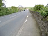 A 7 road heading East, just past Billown farm - Geograph - 169162.jpg