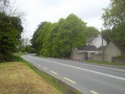 Bend in the road, Co Meath - Geograph - 1867736.jpg