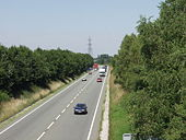 A 5 (A483) Oswestry by-pass - Geograph - 204085.jpg