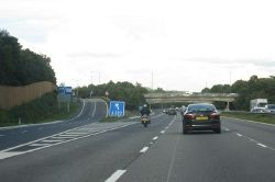 Junction 3 on the M3 - Geograph - 2070413.jpg