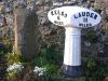 Cast iron milepost and milestone on B6397 - Coppermine - 10384.JPG