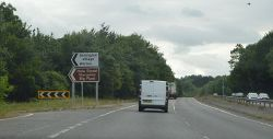 A24, southbound - Geograph - 5566287.jpg