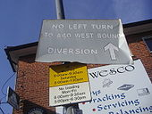 A40 diversion, East Acton - Coppermine - 23243.jpg