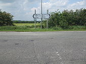 B1192, A153 junction - Geograph - 1660321.jpg