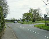 B4039 meets the A420 - Geograph - 1270821.jpg
