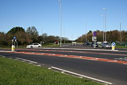 Chiverton Cross Roundabout - Geograph - 273035.jpg
