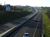 M8 looking south towards junction 12. - Coppermine - 21149.jpg