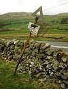 Cattle Crossing sign beside A76 - Coppermine - 23319.jpg