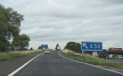 M6 - junction 18 sliproad - Geograph - 905226.jpg