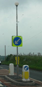 A4112 approaching Junction with the A44 - Coppermine - 13049.jpg
