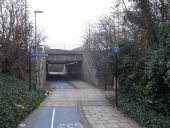 Cycle Super highway 3 near Beckton (C) David Anstiss - Geograph - 3392689.jpg