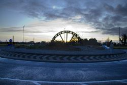 Maynooth Road roundabout - Geograph - 3281301.jpg