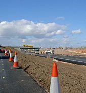 Almost there on the A1 at Blyth Notts - Geograph - 717256.jpg