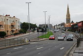 The A374 into Plymouth - Geograph - 935996.jpg