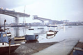 Itchen Bridge under construction - Geograph - 1479998.jpg