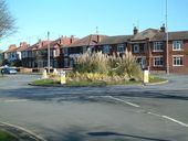 Roundabout on Queensgate - Geograph - 1226628.jpg
