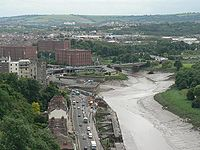 Clifton- view from the bridge - Geograph - 854365.jpg
