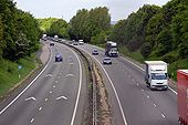 The A34 at Harwell - Geograph - 1315536.jpg