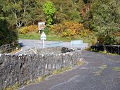 Road junction, Tummel Bridge - Geograph - 1533951.jpg