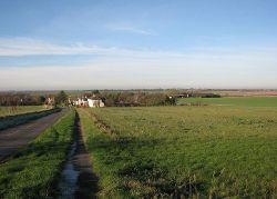Swaffham Prior- view from the top of Rogers Road - Geograph - 4269606.jpg