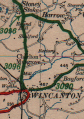 B3096 Wincanton map.png