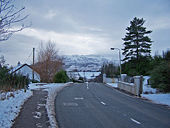 A855 enters Portree - Geograph - 1156266.jpg
