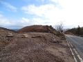 A9 Berriedale Braes Improvement - March 2020 cutting next to old road.jpg
