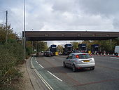 Toll Bridge at Woolston - Geograph - 598874.jpg