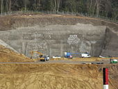 Hindhead A3 Bypass. South tunnels - Geograph - 770949.jpg