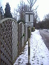 Road junction sign minus triangle, Hertford - Coppermine - 21367.JPG
