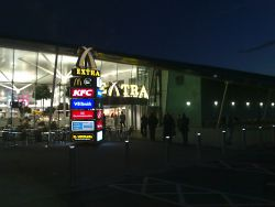 Cobham services first night.jpg